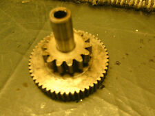 SUZUKI AN400 AN 400 BURGMAN K1 2001 ENGINE STARTER IDLE GEAR COG