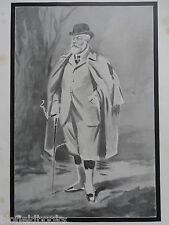 Original 'The World' Supplement Print of His Majesty King Edward VII - 10/8/1910