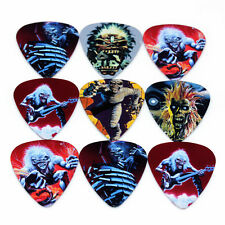 50pcs 1mm Musical Accessories Iron Lady Rock Band Guitar Picks Mix Plectrums