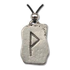 Pendentif Rune, Runestones - Wyn - Equilibre En Étain Livré avec un cordon noir