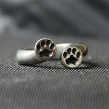 Paw Print Ring - Dog Paw - Cat Paw - Pewter Jewelry