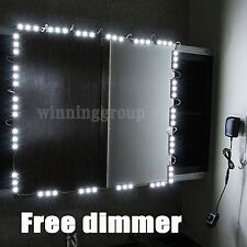 Mirror LED Light for Hollywood Makeup Mirror Vanity Mirror Lights with Dimmer...
