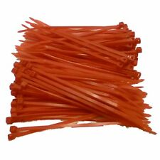 Cable Ties 100mm x 2.5mm Nylon Zip Ties - Colour Choice - 100/200 Ties