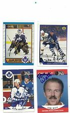 1989-90 OPC # 271 Allan Bester Autographed Signed Card Toronto Maple Leafs