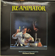 "OST - SOUNDTRACK - RE-ANIMATOR - RICHARD BAND  12""  LP (M976)"