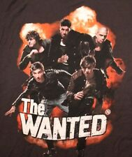 VINTAGE THE WANTED ROCK POP MUSIC CONCERT TOUR T SHIRT TEE TSHIRT ADULT M NEW