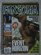 FANGORIA MAGAZINE #165 AUG 97 EVENT HORIZON KILLER CONDOM SPAWN MOVIE PREVIEW