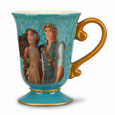 DISNEY DESIGNER FAIRYTALE COUPLE POCAHONTAS & JOHN SMITH Mug New PRINCESS