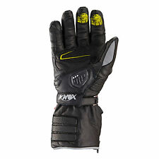 KNOX Zero 2 Waterproof Motorcycle Gloves Leather Hand Armour Winter S/XL/XXL
