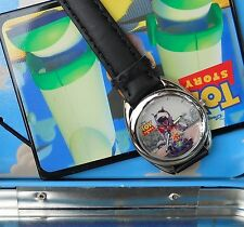 "NEW DISNEY TOY STORY 1996 WRIST WATCH IN TIN BOX MADE BY FOSSIL IN 1996 ""SCUD"""