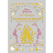 Adult Coloring Book Disney Princess 100 Images to Inspire Creativity Relaxation