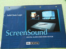 SSL Screen Sound Prospect Solid State Logic SSL Digital Screensound