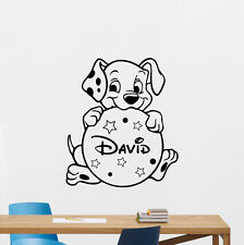 Dalmatian Personalized Name Wall Decal Disney Vinyl Sticker Baby Decor 214crt