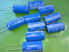 [10 pcs] Nichicon series BT 1000uF 50V 125'C  Long Live 10000h  UBT1H102MHD