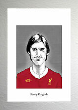 Kenny Dalglish - Liverpool Legend - Caricature Art Poster