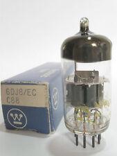 1 1970s Matsushita/Westinghouse 6DJ8 ECC88 tube - TV7B tested@ 90/100, min:62/62