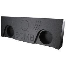 """Qpower QBGMC14212 Qbomb empty Dual 12"""" 2014-15 GMC Crew Cab 4 door"""