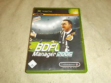 BDFL Manager 2006 XBox