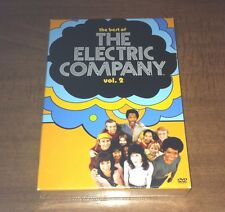 NEW, Sealed - The Best of The Electric Company - Vol. 2 (DVD, 2006, 4-Disc Set)