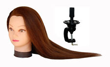 "*USA SELLER*  26"" Cosmetology Mannequin Head 100% REAL HUMAN Hair @@ US SELLER"