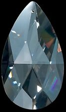 """Set of 100 3"""" High Quality 30% Lead Tear Drop Crystals For Lamp & Chandeliers!"""