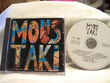 MOUSTAKI -Georges Moustaki, CD of 1975 album, Polydor France, mint CD, Pourquoi