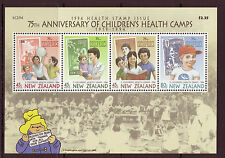 NEW ZEALAND 1994 HEALTH ISSUE CHILDRENS HEALTH CAMPS UNMOUNTED MINT, MNH