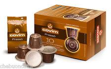 120 CIALDE CAPSULE CAFFE COVIM PRESSO OROCREMA COMPATIBILI MACCHINE NESPRESSO