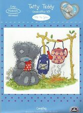 DMC TATTY TEDDY ME TO YOU CAMPING COUNTED CROSS STITCH KIT - NEW 2015