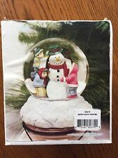 Gold Canyon Snow Days Topper 82670 Candle Topper Snow Globe
