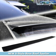 Painted New V-Style Roof Lip Spoiler For Cadillac CTS 2nd 4D Sedan 08-13