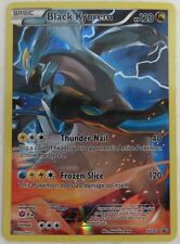 2015 BLACK KYUREM POKEMON XY80 PROMO FOIL CARD            (INV7665)