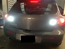 T20 7440 80W LED super white projector globe for Mazda3 2004-2008 reverse lights