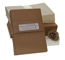 Brown Kraft Recycled A6 postcards 300gsm (50 pack)