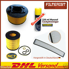 Innenraumfilter Pollenfilter BMW E46 316 i + Luftfilter + Ölfilter + GESCHENK