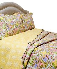 Home Fashions Vintage Collection Kiera Quilt/Sham Set, Full/Queen