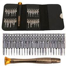 25 Different Sizes Screw Driver Sets Multi Repair Tools Kit for iPhone PC Laptop