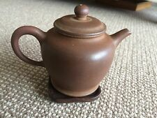 Classic China Yixing Zisha Early 1980's Collectibles  Qing Shui Ni Teapot