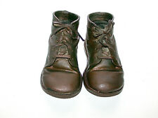 Antique Preserved 1920's Era Boy's Leather Baby Shoes