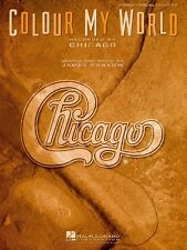Colour My World Sheet Music Piano Vocal Chicago NEW 000351461