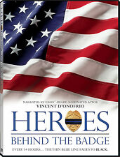 Heroes Behind The Badge- DVD, 90min, Police, Law Enforcement Documentary Film