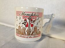 Memphis Tennessee Home Of The Blues Coffee Mug Music Guitar