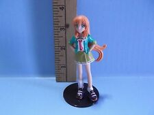 "#451 Unknown Anime 3.5""in Girl with Cool Colorful Tennis Shoes Orange Hair"