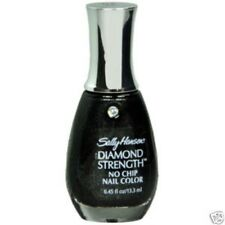 Sally Hansen DIAMOND STRENGTH #94/480 BLACK DIAMOND No-Chip Nail Polish Enamel
