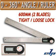 Digital 0-360° Transportador Medidor 2en1 Angulos Regla Degree
