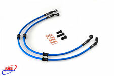 KAWASAKI ZX10R ZX 10 R 2004-05 AS3 VENHILL BRAIDED FRONT BRAKE LINES HOSES RACE