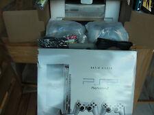 RARE Sony PlayStation 2 Argent Satin silver(PAL) 100% NEUF