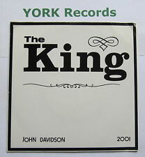 "JOHN DAVIDSON - The King - Excellent Condition 7"" Single Rocky SRT 4KS 082"