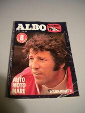 ALBO MOTORI - n° 23 lire 300 - ED. UNIVERSO - 1978 - MARIO ANDRETTI