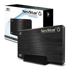 """Vantec 3.5"""" SATA III 6 Gbp/s to USB 3.0 External Hard Drive Enclosure - Black"""